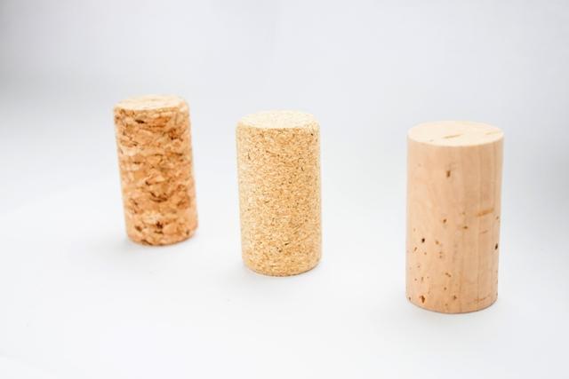 agglomerated, micro, natural corks