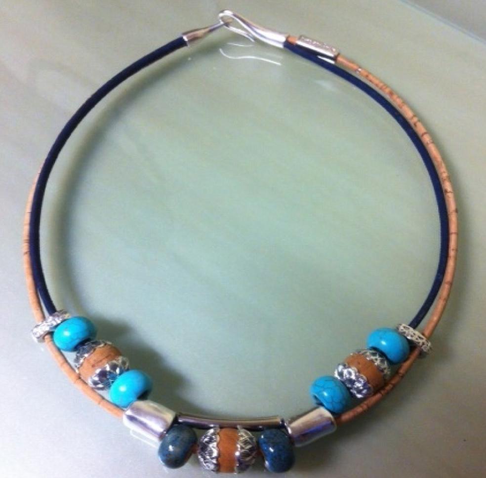 cork jewelry - 1
