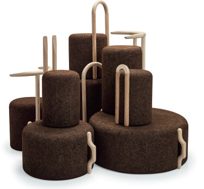 expanded cork furniture