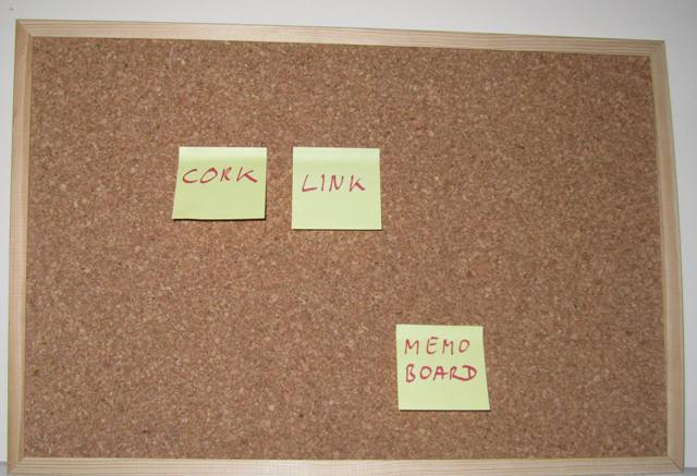 Memo Board And Note Royalty Free Stock Images - Image: 120689